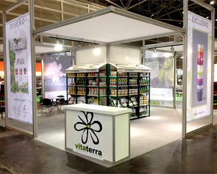 Stands para ferias Iberflora y Fruit Attraccion